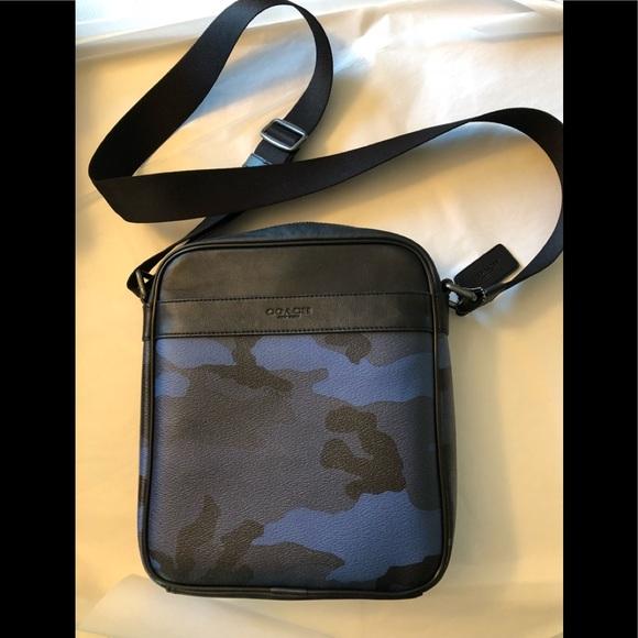 f732482633fc Coach Other - Coach authentic men s indigo camo designer bag